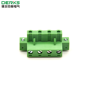 7.62mm Electric Pluggable Terminal Blocks