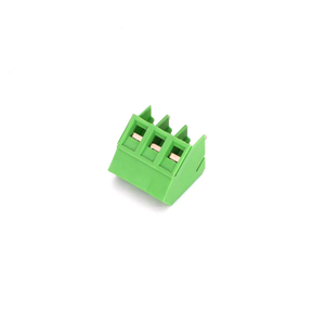Screw Terminal Block Green