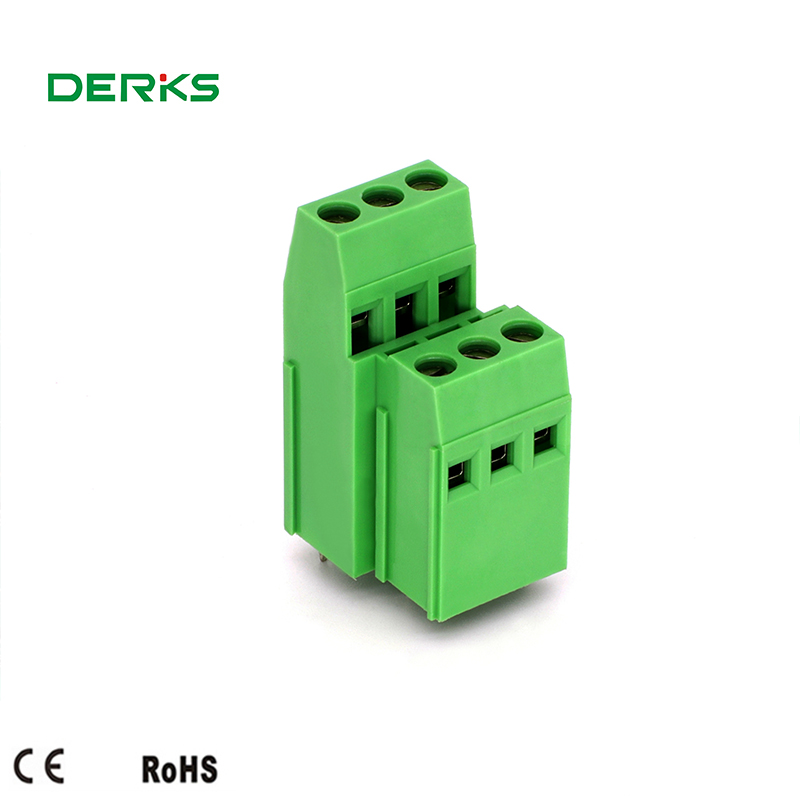 Double Low Screw Terminal Block