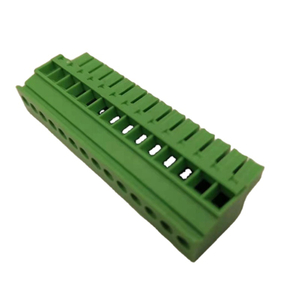 3.81mm Pitch Green,Black 2~16 Way Horizontal Wire Entry Screw Clamp Pluggable Terminal Blocks